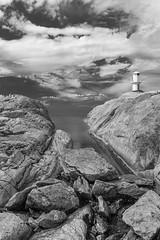 Marstrand/Sverige 2013 (karlheinz klingbeil) Tags: sverige ocean northsea schweden wasser monochrome water marstrand nordsee meer