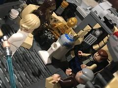 (DanBen20) Tags: custom mods millenniumfalcon obiwan r2d2 c3po chewbacca hansolo luke starwars lego