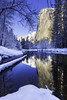 El capitan (3dRabbit) Tags: snow storm elcapitan yosemite national park river reflection sungjinahn