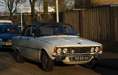 1975 Rover 3500 (P6) (rvandermaar) Tags: 1975 rover 3500 p6 rover3500 roverp6 sidecode3 90dz66 v8