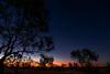 Sunset in the Desert (Dan Denison) Tags: sunset australian bush desert arid camping