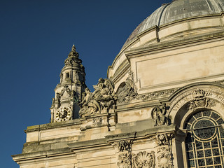 Cardiff City Hall & Clock Tower