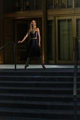 A little sun (steveedreff) Tags: pointe steps outdoors outside sunlight sun fashion modelo model woman girl female sexy beautiful ballerina ballet