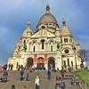Basilique Sacré-Coeur - Paris - France - HIstoric Church - Roman Catholic (Onasill ~ Bill Badzo) Tags: basilique sacrécoeur paris france historic church basilica sacred heart mount martyrs montmartre roman catholic rc religion style architecture byzantino byzantine romanesque landmark tourist travel tours walking statute hill onasill nrhp historical sky clouds