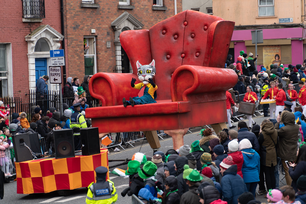 ARTASTIC - TICK TOCK OF THE FAMILY CLOCK [DUBLIN PARADE 17 MARCH 2018]-137704