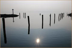 Sonne in der See (der bischheimer) Tags: ostsee baltic meer wasser poel timmendorf hafen canon derbischheimer