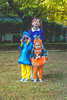Finding Nemo Crew (crashmattb) Tags: findingnemo halloween 2017 costumes daughters sisters nemo dory darla abigailjaclyn isabelrose estellakatherine home marietta georgia canon70d canon35mmf2isusm