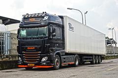 *NEW* Daf XF106 NDS (Samuele Trevisanello) Tags: daf xf106 nds transporte holland nl transport dafxf e6 euro6 hollandstyle style italy hollanditaly express power paccar fotobyst truck trucks truckspotting truckmeeting veicolo allaperto camion bruno villa nikon black orange d3200