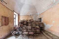 Reserved_Seats.jpg (doppi4punt4) Tags: abandoned abandonedplaces abbandono colors creepy crumbling damage decadenza decay derelict discarded disused filth forgottenplaces godforgotten infiltration italia lost lostplaces luoghiabbandonati neglected old oldplaces relics ruins teatres teatro theater trash urbandecay urbanexploration urbanexplorer urbexita seggiole seats seat