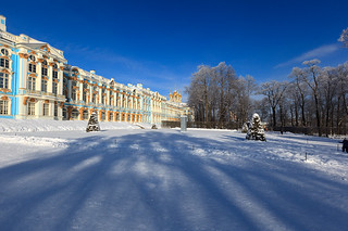 Catherine Palace.
