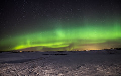 Near Cochrane- Northern lights (Christy Turner Photography) Tags: auroraborealis aurora albertaaurorachasers aurorachaser northernlights astrophotography nightscape canada albertanights