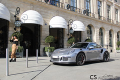 Paris Fashion Week. (Chris Photography.) Tags: paris fashion fashionweek psf car canon cars chrisphotographymc automotive ritz porsche 911 911gt3 porsche911 supercar spotting supercars