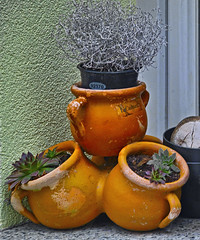 Some street pottery (Matjaž Skrinar) Tags: 100v10f 250v10f