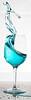 blue (Andreas Stamm) Tags: glas welle wave water wasser blue blau drop tropfen highspeed splash liquid macro makro licht lights sculpture