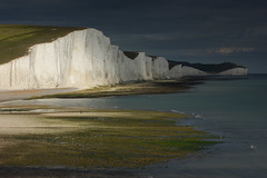 Seven Sisters (Alan MacKenzie) Tags: landscape cliffs sea sussex england weather southdowns nationalpark