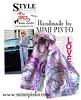 mimi pinto scarves (MimiPintoArt) Tags: fashion fashionista street style felting handmade head scarf hijabi hijab
