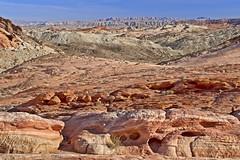 Valley of Fire Layers 5777 B (jim.choate59) Tags: desert on1pics jchoate nevada valleyoffire firewavetrail sandstone dry rocks barren desolate d610
