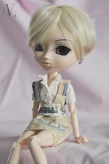 reintroducing - Eunbyul (uglycherries) Tags: pullip saras doll dolls groove blonde obitsu obitsued