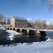 Watson's Mill and dam in Manotick (Ottawa), Ontario (Ullysses) Tags: watsonsmill mosskentdickinson josephmerrillcurrier dam barrage rideauriver rivièrerideau manotick ottawa ontario canada winter hiver mill moulin