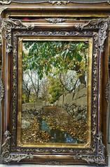sardrud Handmade pictorial Carpet (sardrud Hand Woven artistic Carpet) Tags: tabriz sardrud art carpet landscape garden autumn tree