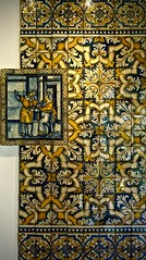 L1030230 (pedrosimoes7) Tags: museunacionaldoazulejo nationaltilesmuseum azulejos tiles museu musée museum geometric geometrique xabregas lisbon portugal
