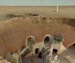 Tatooine (magawolaz) Tags: starwars attackoftheclones tatooine episodeii anakin padme tunisia lars owen beru shmi sand desert moisture vaporizer farming farmer