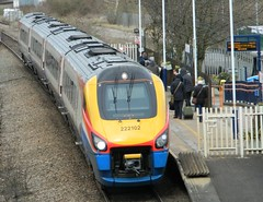 East Midlands Trains (222102) Class 222 (J.J.Pay 4615) Tags: dmu emt leicester midlands syston rail train hst