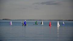 bateaux (Charles-Fernand) Tags: bateaux saintcast bretagne crépuscule sunset voiliers couleurs brittany boats sea mer colors manche côtesdarmor cézembre saintmalo phare du grand jardin