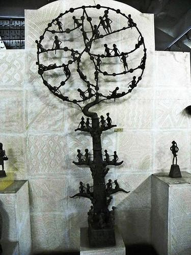 Khajuraho 07 - Tree of Life