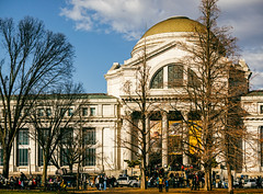 National Museum of Natural History Main Facade (LJS74) Tags: nationalmuseumofnaturalhistory nationalmall smithsonian naturalhistory museum washingtondc architecture clouds sky