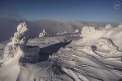 Winter in Sudety mountains (Szymon Wiatr) Tags: sudety karkonosze krkonose mountains góry góra śnieg snow snijeg sky niebo landscape krajobraz pejzaż wiatr wind winter zima zimski zimska zimou