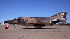 F4 66-0469 (JO) 1977-07 KCEF LP (Gert-Jan Vis) Tags: 660469 mcdonnell f4 rf4c phantom usaf usairforce westoverafb 2632