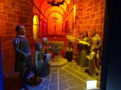 Bautizo diorama momentos vida de San Francisco Javier Museo Castillo Navarra (Rafael Gomez - http://micamara.es) Tags: bautizo diorama momentos vida de san francisco javier museo castillo navarra