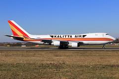 Kalitta Air  Boeing 747-246F(SCD) N706CK (widebodies) Tags: liege lüttich lgg eblg widebody widebodies plane aircraft flughafen airport flugzeug flugzeugbilder kalitta air boeing 747246fscd n706ck