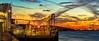 Botlek_panorama (Peet de Rouw) Tags: panorama botlek sunset nieuwemaas rotterdam portofrotterdam peetderouw denachtdienst canon5dmarkiii