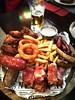 Beer snacks (MelindaChan ^..^) Tags: siberia russia 俄羅斯 西伯利亞 chanmelmel mel melinda melindachan irkustsk travel tour food eat restaurant meal dinner russian meat snack yummy lake baikal 貝加爾湖