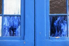 Upper Fells Point ~ blue windows (karma (Karen)) Tags: baltimore maryland upperfellspoint doors windows walls hww cmwd