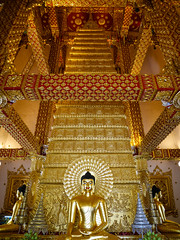 Thailand - Ubon Ratchathani - Wat Phrathat Nong Bua (st3000) Tags: watphrathatnongbua asia thailand siam seasia southeastasia isan northeast travel countryside lumix gm5 wat temple good buddha buddhism