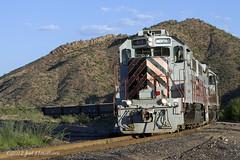 CBRY 501 (Joel Hawthorn) Tags: 2012 arizona copperbasinrailway emdgp392