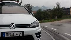 Volkswagen Golf R ready to hit the road (OnTheRoadAgainBlog) Tags: vw volkswagen golf mk7