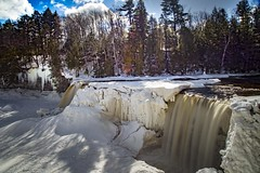 Upper Tahquamenon (Notkalvin) Tags: tahquamenonfalls upper falls waterfall mikekline notkalvinphtoography outdoor winter cold ice michigan nature river flow erosion tannin snow outdoors nopeople landscape photography canon