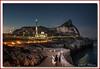 Reminiscing (Deek Wilson) Tags: gibraltar therock britishoverseasterritory mediterraneansea ibrahimalibrahimmosque europapoint nightshoot afterdark night landscape fishing fishermen