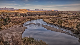 Terlingua Creek and the Rio Grande