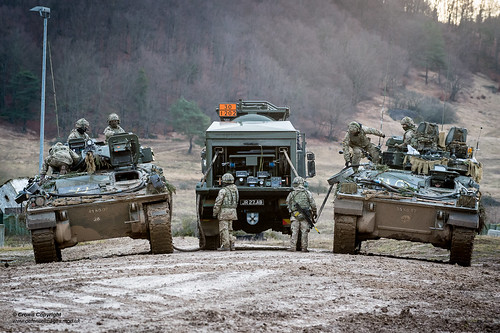 NATO Exercise Allied Spirit 8 in Southern Germany