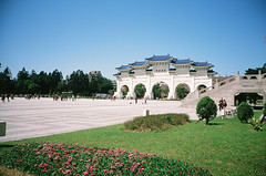 CKS Memorial Hall (jasoncremephotography) Tags: ricoh gr1v ricohgr1v rdp3 rdpiii fujifilm fujichrome film analog e6 taipei taiwan