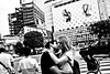 Trying to be romantic on Shibuya.... (Victor Borst) Tags: kiss shibuyacrossing street streetphotography streetlife reallife real realpeople asia asian asians faces face candid travel travelling trip traffic traveling urban urbanroots urbanjungle blackandwhite bw mono monotone monochrome city cityscape citylife portrait kissing streetportrait people japan japanese tokyo