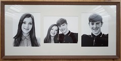 Tryptic Portrait Commission (teltone) Tags: portrait commission face hahnemuele quality tryptic portraitshoot aperture