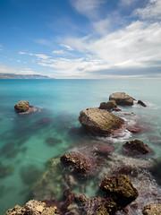 Marina (carlosjaime) Tags: playa playadecalahonda nerja costa costadelsol rocas cielo azul mar marina filtrond