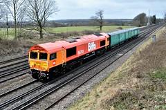66783 (stavioni) Tags: gbrf railfreight class66 shed diesel railway train biffa rail