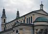 Church of St. Borromeo in Warsaw (Adam Nowak) Tags: church kościół chmury deszcz